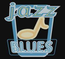 Mardi Gras Jazz & Blues Kids Tee