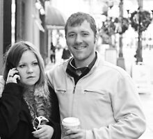 Couple on Nicollet by Mark Jackson