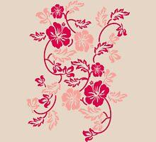Hawaii Flower Womens Fitted T-Shirt