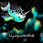 Space Narwhal! by Audrey Dijeau