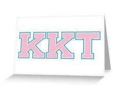Kappa Kappa Tau Greeting Card