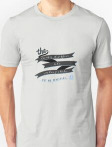 The Decades Disappear Like Sinking Ships Unisex T-Shirt