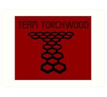 Torchwood sign  Art Print