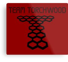 Torchwood sign  Metal Print