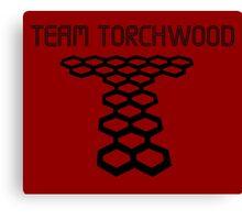 Torchwood sign  Canvas Print