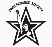 DMU Feminist Society tee - StarFist Kids Clothes