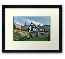 Stone Cottages in Broadway, Gloucestershire Framed Print