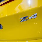 BMW Z4 sDrive20i Pure Impulse Logo Detail [ Print & iPad / iPod / iPhone Case ] by Mauricio Santana
