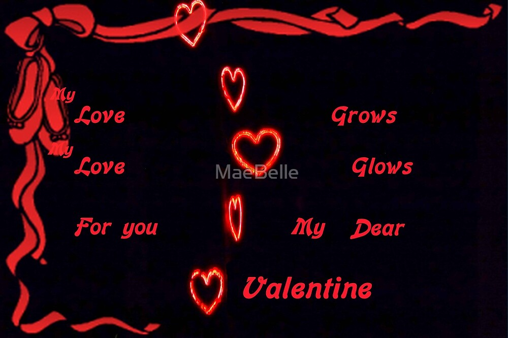 Love Grows,valentine card by MaeBelle