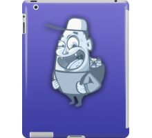 Character Blue. iPad Case/Skin