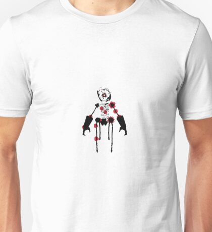 Ink Blot Ro-Bot Unisex T-Shirt
