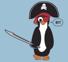 pirate penguin Baby Tee