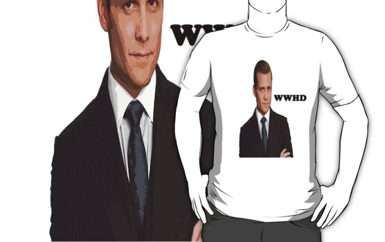 harvey specter WWHD by comicbookguy