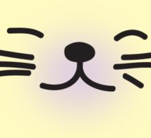 super happy lucky cat Sticker