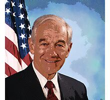 celebrities ron paul Photographic Print