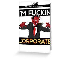 I'm Corporate Greeting Card