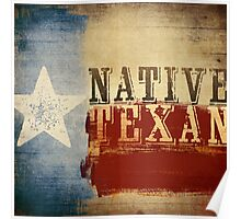 Native Texan Poster