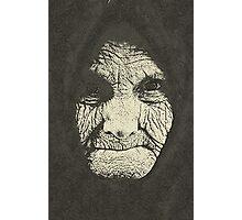 concept  a monumental face Photographic Print