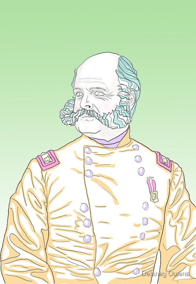 Ambrose Burnside Neon by Delaney Owens