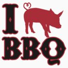 i love bbq by Cheesybee