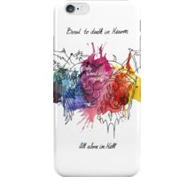 Bored in Heaven, Alone in Hell iPhone Case/Skin
