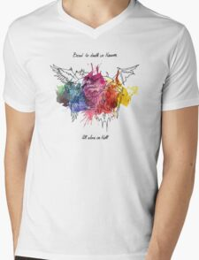 Bored in Heaven, Alone in Hell Mens V-Neck T-Shirt