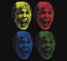 Psycho - 4 colored faces by ilmagatPSCS2