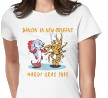 Mardi Gras 2013 Womens Fitted T-Shirt
