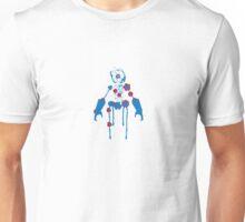 Ink Blot Ro-Bot (Blue Recolor) Unisex T-Shirt