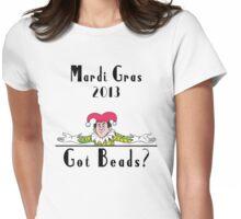 Mardi Gras 2013 Got Beads Womens Fitted T-Shirt
