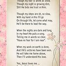 Jesus Loves Me by Maria Dryfhout