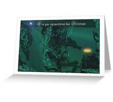 Lo que encuentran las Sirenas  http://loqueencuentranlassirenas.blogspot.com.es/p/x.html Greeting Card