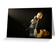 What do you call a chicken with it's head chopped off? Greeting Card