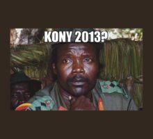 Kony 2013 Meme Shirt by William Patterson