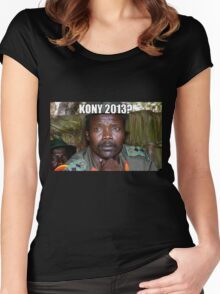 Kony 2013 Meme Shirt Women's Fitted Scoop T-Shirt