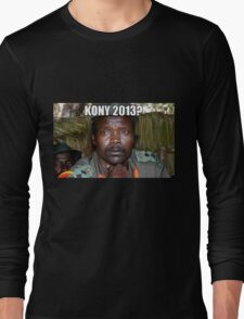 Kony 2013 Meme Shirt Long Sleeve T-Shirt