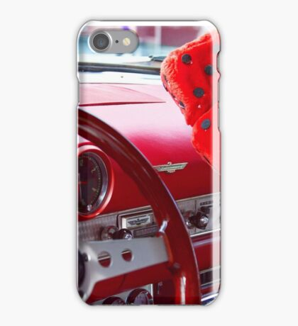 Red Thunderbird iPhone Case/Skin