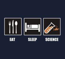 Eat Sleep Science Kids Tee