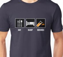 Eat Sleep Science Unisex T-Shirt