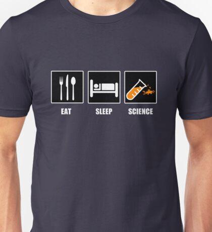 Eat Sleep Science Unisex T-Shirt