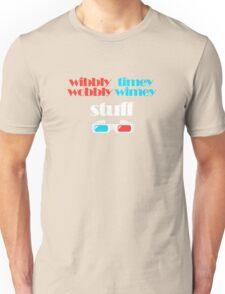 wibbly wobbly timey wimey stuff in 3D Unisex T-Shirt