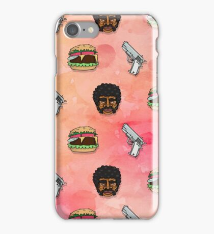 Pulp Fiction Big Kahuna Burger Pattern iPhone Case/Skin
