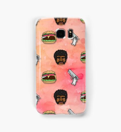 Pulp Fiction Big Kahuna Burger Pattern Samsung Galaxy Case/Skin