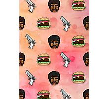 Pulp Fiction Big Kahuna Burger Pattern Photographic Print