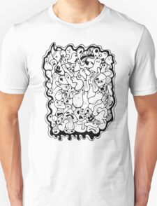 Blobby Faces T-Shirt