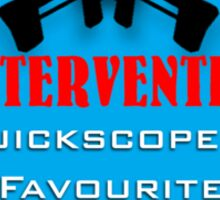 Intervention: Quickscoper's Favourite Sticker