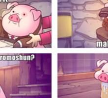 Know Your Meme: Waddles Sticker