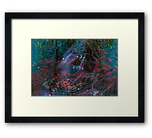 Goldfish caldron. Framed Print