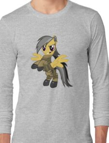 My Little Military Pony Long Sleeve T-Shirt
