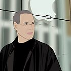 Steve Jobs Portrait by nealcampbell